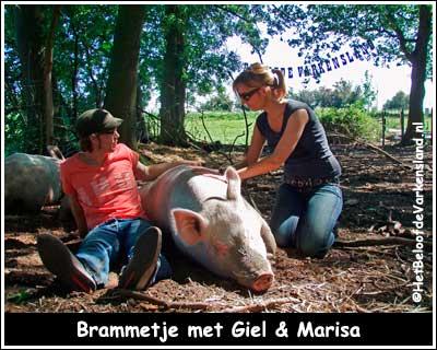 Brammetje met Giel & Marisa