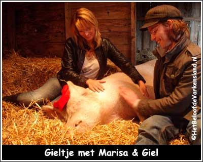 Gieltje met Marisa & Giel