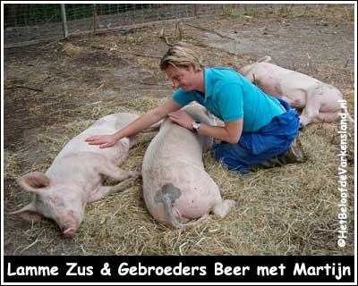 Lamme Zus & Gebroeders Beer met Martijn