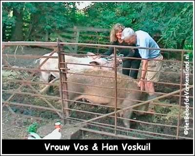 Vrouw Vos & Han Voskuil
