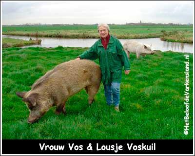 Vrouw Vos & Lousje Voskuil