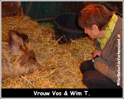 Vrouw Vos & Wim T.